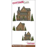 CottageCutz Die - Mountain Lodge