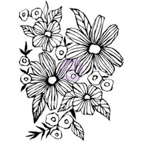 Prima Cling Rubber Stamps by Christine Adolph - Daisy May