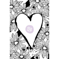 Prima Cling Rubber Stamps by Christine Adolph - Daisy Love