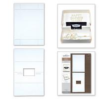 Spellbinders Contour Dies - Gift Card Box