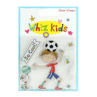 Trimcraft Whiz Kids - Sports for Boys Clear Stamps