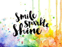 Visible Image Stamps - Smile Sparkle Shine