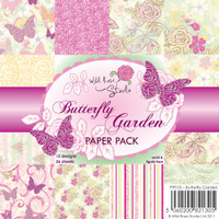Wild Rose Studio - Butterfly Garden Papers