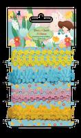 Kori Kumi by Santoro  Ribbons 1m 4/Pkg - Daisy Chain