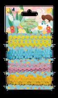 doCrafts Kori Kumi by Santoro  Ribbons 1m 4/Pkg - Daisy Chain