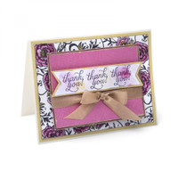 Sizzix Clear Stamps By David Tutera - Floral Embellishments