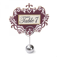 Sizzix Clear Stamps By David Tutera - Sentiments & Table Numbers