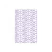 Sizzix Textured Impressions Embossing Folder By David Tutera - Hearts