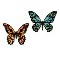 Sizzix Thinlits Die by Tim Holtz Set 4PK - Detailed Butterflies, Mini