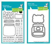 Lawn Fawn Clear Stamps & Dies Bundle - How You Bean?