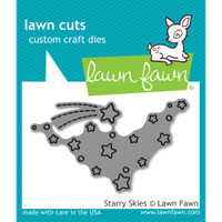 Lawn Cuts Custom Craft Die - Starry Skies