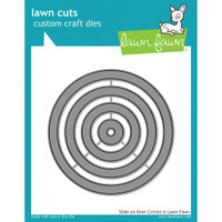 Lawn Cuts Custom Craft Die - Slide On Over Circles