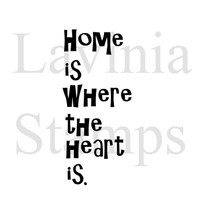 Lavinia Stamps - Home is Where.....