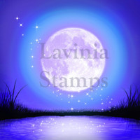 Lavinia Stamps - SceneScapes 4/pkg: Moonlight Glow