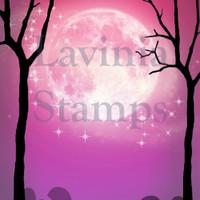 Lavinia Stamps - SceneScapes 4/pkg: Pink Equinox