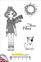 Carabelle Studio Cling Stamp A6 - OZ 2016,Dorothy