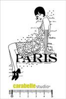 Carabelle Studio Cling Stamp A7 - Paris