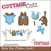 CottageCutz Die - Baby Boy Clothes