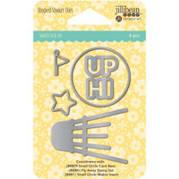 Hampton Art Jillibean Soup  Shaker Die Set - Small Circle
