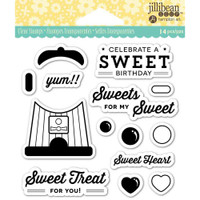 Hampton Art Jillibean Soup  Clear Stamp - Sweet Treat