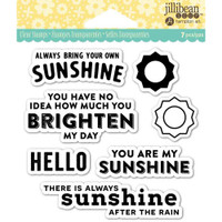 Hampton Art Jillibean Soup  Clear Stamp - My Sunshine