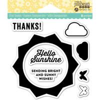 Hampton Art Jillibean Soup  Clear Stamp - Sunshine