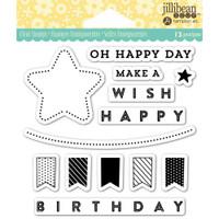 Hampton Art Jillibean Soup  Clear Stamp - Oh Happy Day
