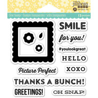 Hampton Art Jillibean Soup  Clear Stamp - Pic Perfect