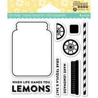 Hampton Art Jillibean Soup  Clear Stamp - Lemonade