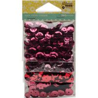 Hampton Art Jillibean Soup  Sequin 4pk - Reds and Pinks