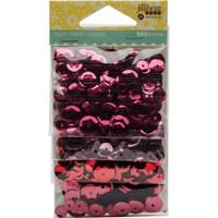 Hampton Art Jillibean Soup  Sequins 4pk - Reds and Pinks