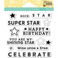 Hampton Art's Jillibean Soup  Clear Stamp - Rock Star