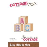 Cottagecutz Mini Die - Baby Blocks