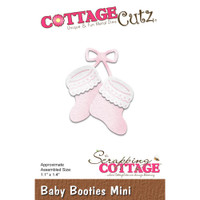 Cottagecutz Mini Die - Baby Booties