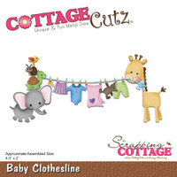 Cottagecutz Die - Baby Clothesline