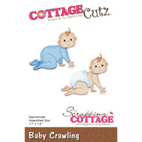 Cottagecutz Die - Baby Crawling