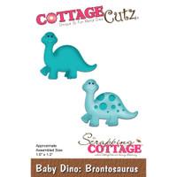 Cottagecutz Die - Baby Dino-Brontosaurus