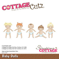 Cottagecutz Die - Baby Dolls