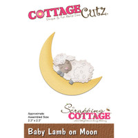 Cottagecutz Die - Baby Lamb On Moon