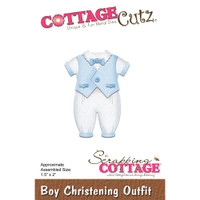 Cottagecutz Die - Boy Christening Outfit