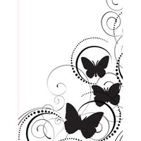 Darice A2 Embossing Folder - Butterfly