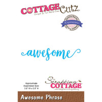 CottageCutz Expressions Plus Die - Awesome