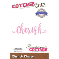 CottageCutz Expressions Plus Die - Cherish