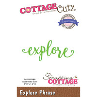 CottageCutz Expressions Plus Die - Explore