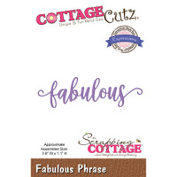CottageCutz Expressions Plus Die - Fabulous