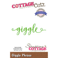 CottageCutz Expressions Plus Die - Giggle