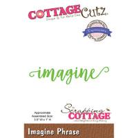CottageCutz Expressions Plus Die - Imagine