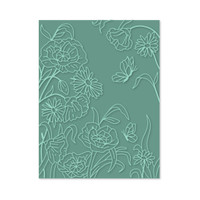 Simply Defined A Simple Hello Collection - Embossing Folder  A2  (Not Part of the Bundle)