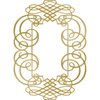 Couture Creations Anna Griffin Hotfoil Stamp: Curling Frame