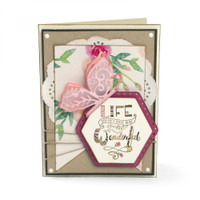 Sizzix Framelits  by Katelyn Lizardi  Die Set 11PK with Stamps -  Thanks for Being You